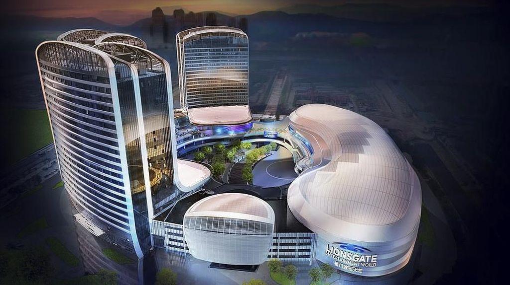 Taman Rekreasi Vertikal Pertama di Dunia Akan Hadir di China