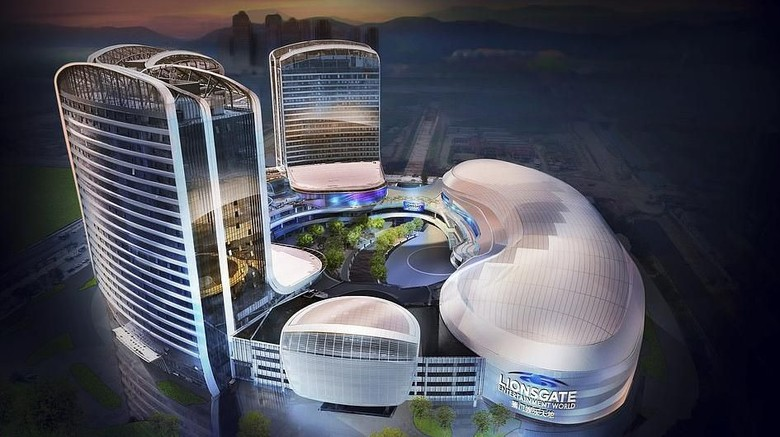 Lionsgate Entertainment World di Zhuhai, China (Lionsgate)