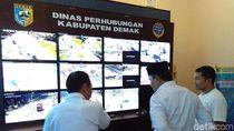 Puluhan CCTV Dipasang di 6 Titik Jalur Mudik Demak