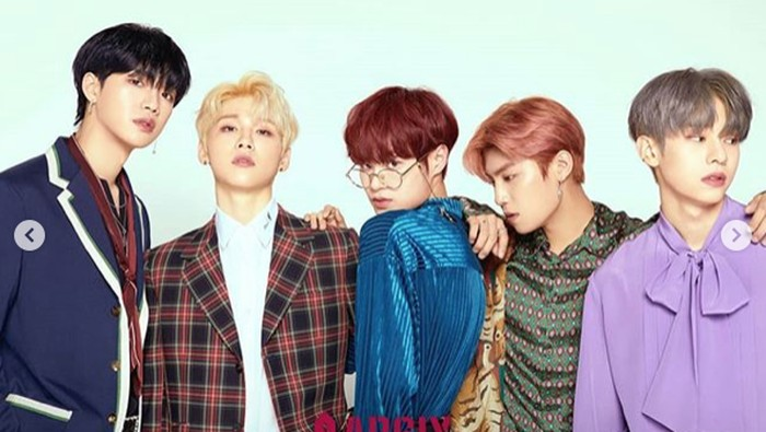 AB6IX, grup idol kpop baru.