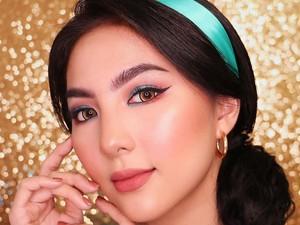 5 Inspirasi Makeup Putri Yasmin dari Film Aladdin ala Beauty Vlogger Indonesia