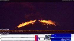 Gunung Agung Erupsi, Sejumlah Daerah Hujan Abu dan Pasir Tebal