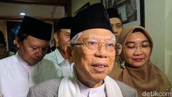 Soal Pertemuan Jokowi-Prabowo, Maruf: Sudah Ada Negosiasi