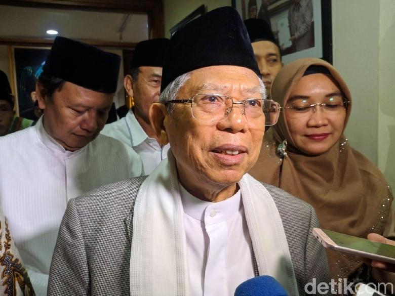 Maruf Amin Pernah Surati DPR Minta RUU KUHP Segera Disahkan