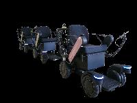 Inovasinya adalah sebuah kursi roda serbaguna, yang dapat membantu mobilisasi lebih cepat dan mudah (Panasonic)