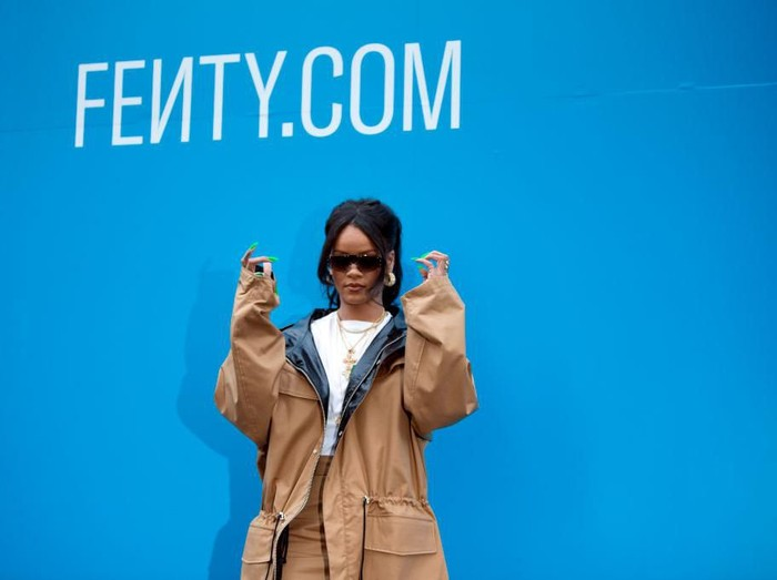 PARIS, FRANCE - MAY 23: Rihanna attends the Fenty Exclusive Preview  on May 23, 2019 in Paris, France. (Photo by Aurelien Meunier/Getty Images For Fenty)