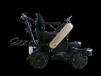 Kursi roda ini juga dilengkapi dengan bagasi di belakangnya (Panasonic)