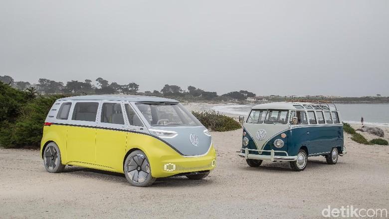 VW ID. Buzz dan VW Kombi Foto: Volkswagen