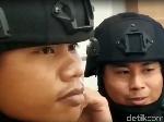 Dituduh Polisi China, Kedua Anggota Brimob ini Unjuk Wajah