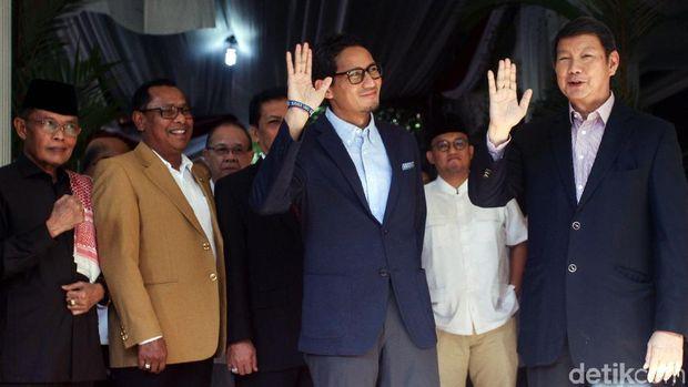 Jumpa pers BPN Prabowo-Sandi soal gugatan ke MK /