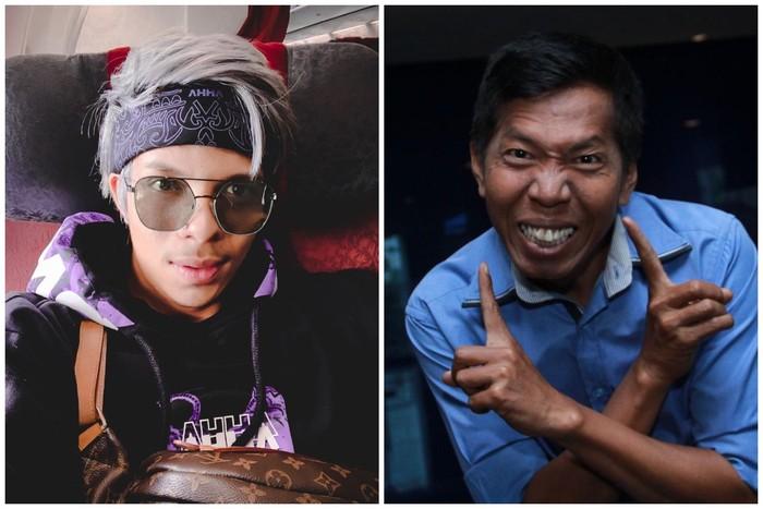 Banyak netizen yang bilang kalau Atta Halilintar dan Kiwil mirip banget! Wah sekilas sih iya, tapi kalau diperhatikan seksama nggak mirip banget kok. (Foto: Instagram @attahalilintar - detikcom)