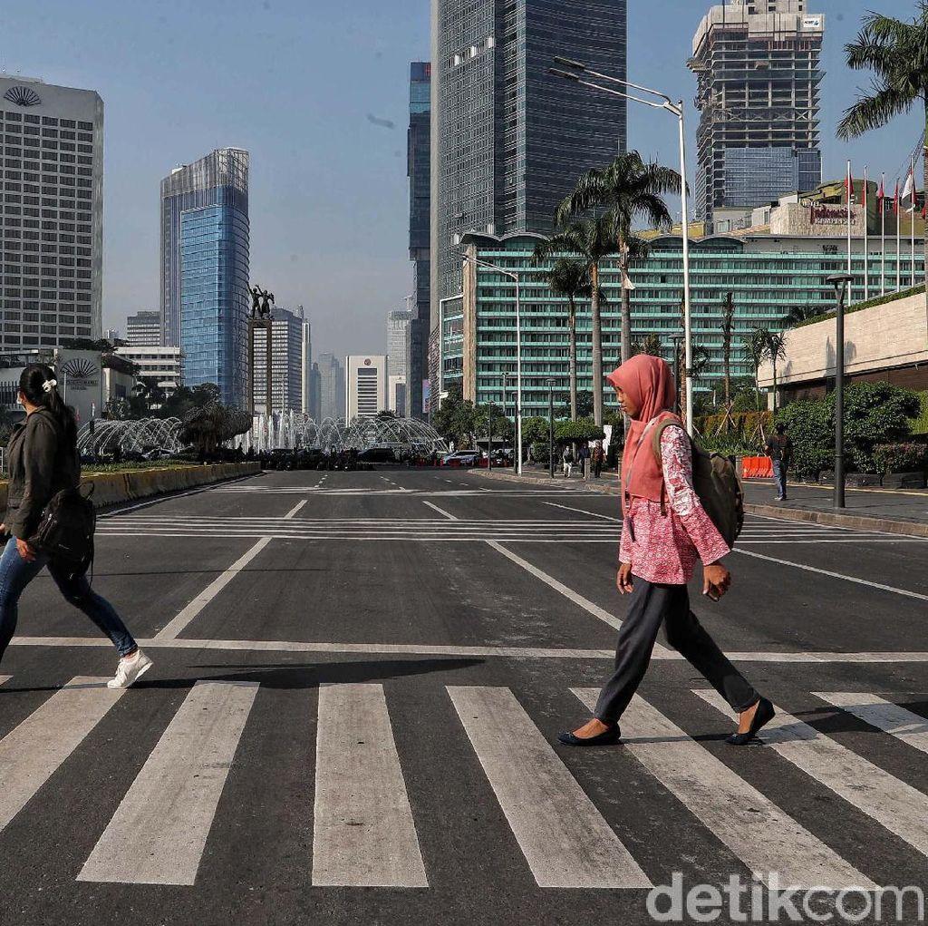 Ini Pertimbangan Polisi Masih Tutup Sejumlah Jalan di DKI Pascaaksi 22 Mei