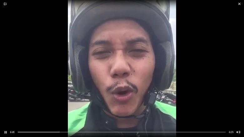 Grab Telusuri Video Driver yang Ajak Lempar Kotoran ke Dalam Panser