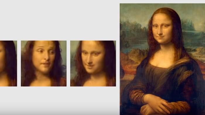 Deepfake Mona Lisa