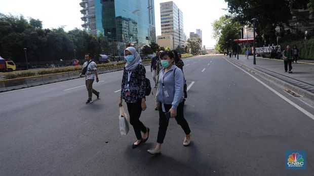 Ini Kondisi Terkini di Thamrin-Sabang Jelang Gugatan Prabowo