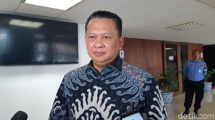 Foto: Ketua DPR Bambang Soesatyo (Tsarina/detikcom)