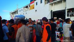 TKI Mudik dari Malaysia, Padati Pelabuhan Nusantara di Sulsel
