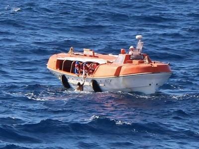 Penumpang Lompat dari Kapal Pesiar, Untung Masih Bisa Ditolong