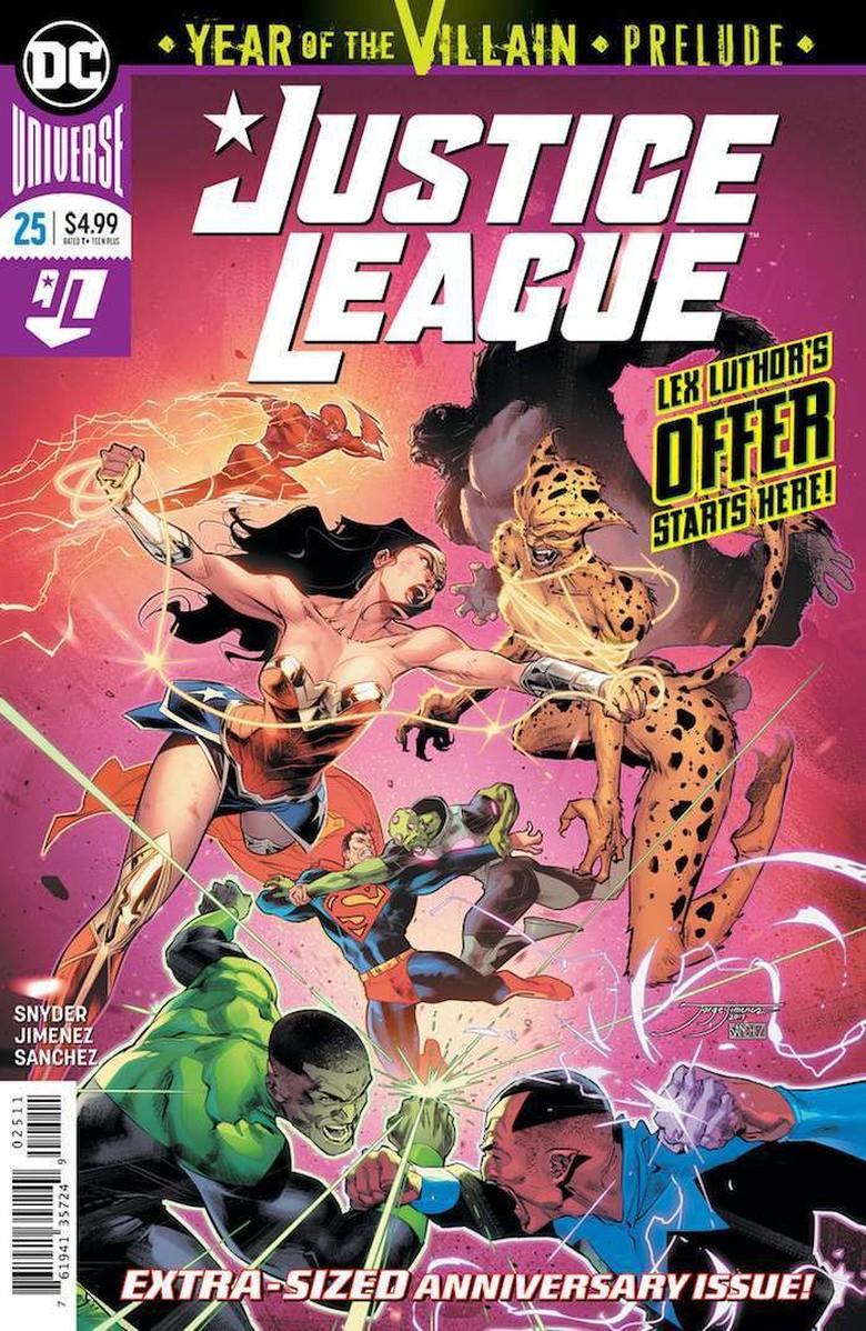60 Tahun Hadirnya Justice League, DC Comics Ganti Logo Baru Foto: DC Comics