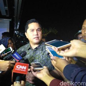 (Lagi-lagi) DPR Mau Panggil Erick Thohir, Bahas Ganti Rugi Jiwasraya