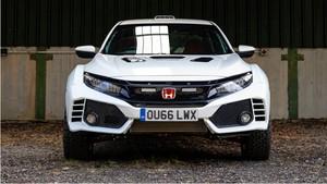 Honda Civic Type R saat Jadi Mobil Rally