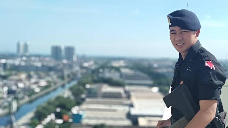Briptu Andre Iroth Viral Usai Hoax Anggota Brimob China, Ini Sosoknya