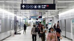 Ini Alasan Stasiun MRT Jakarta Minim Tempat Sampah