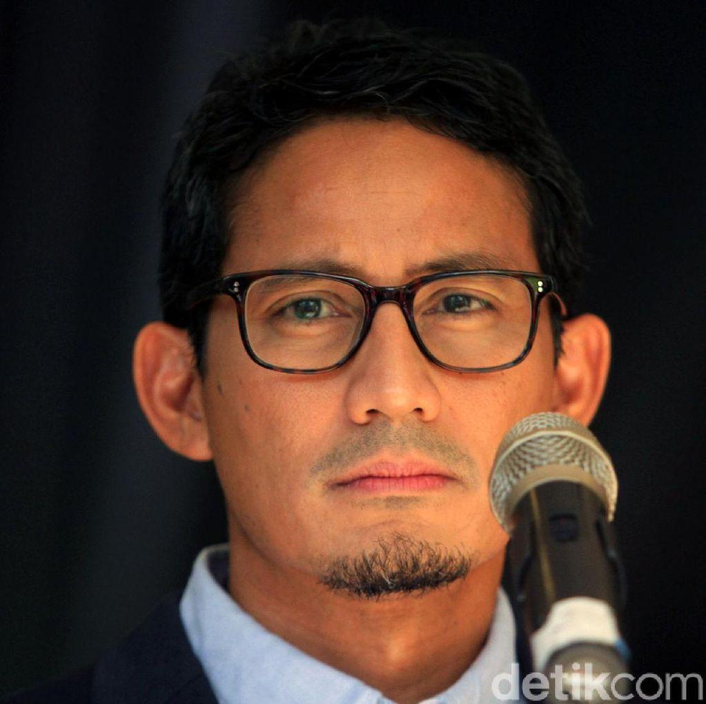 Sandi Sebut Korupsi RI Memprihatinkan, TKN Minta Setop Sandiwara