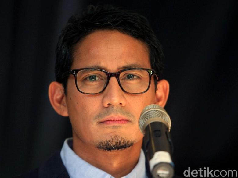 Sandiaga: Pernyataan Ketua MK Saat Buka Sidang Menggetarkan Hati