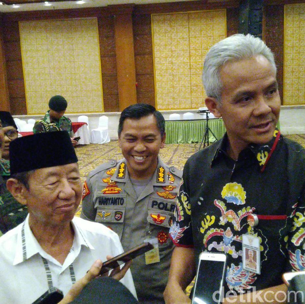 Gubernur Ganjar Ikut Kena Imbas Pembatasan Akses Instagram