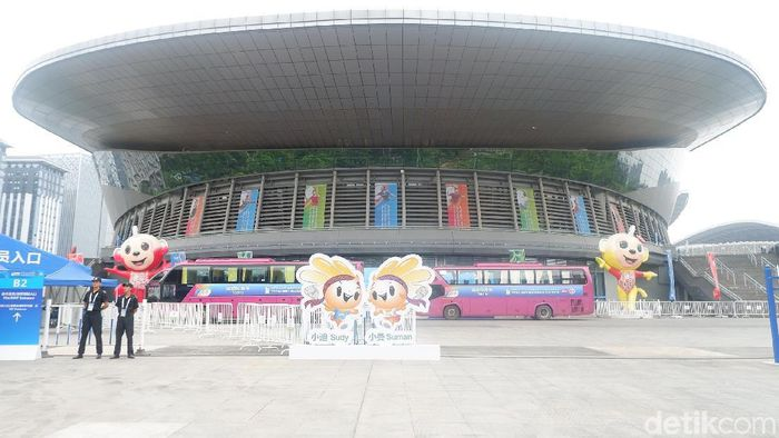 Guangxi Sports Center Gymnasium (Novitasari Dewi Salusi/detikSport)