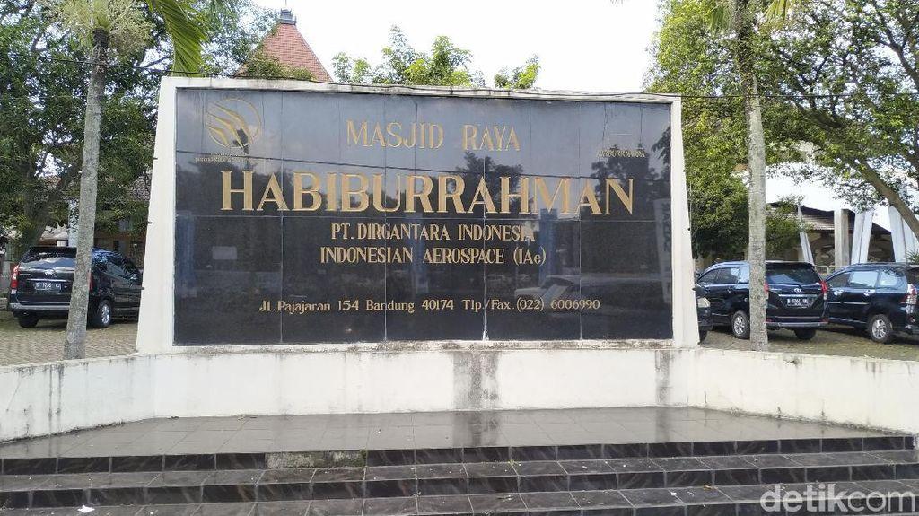 250 Tenda Iktikaf Diprediksi Akan Berdiri di Masjid Habiburrahman