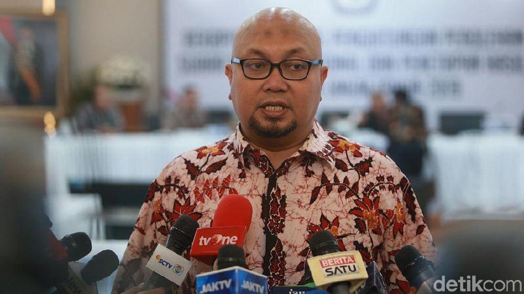 Dicopot dari Ketua Divisi, Komisioner KPU Ilham Hormati Putusan DKPP