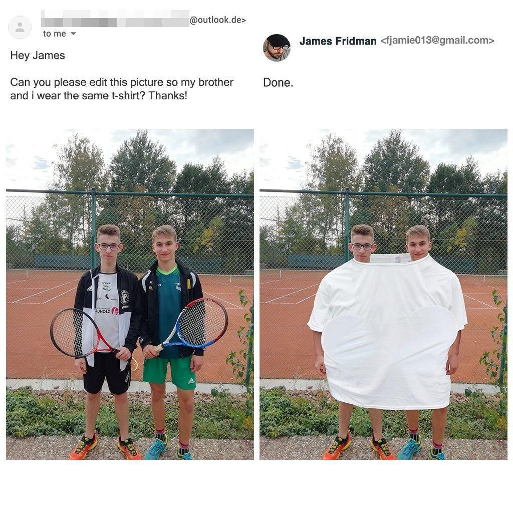 Lagi, Editan Kocak Pakar Photoshop Kabulkan Permintaan Netizen
