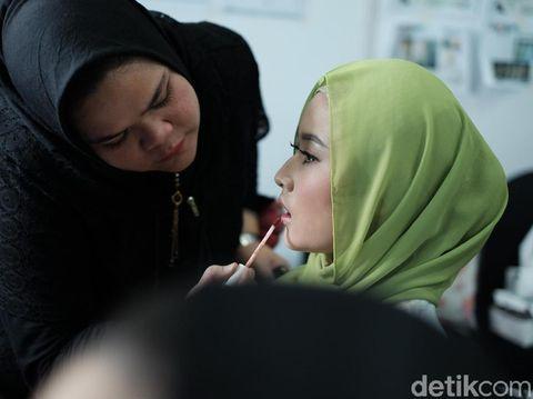 Persiapan finalis jelang final Sunsilk Hijab Hunt 2019.