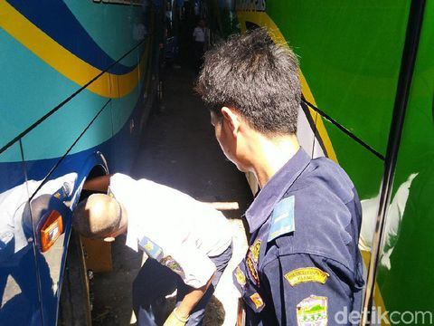 Jelang Mudik, 3 PO Bus Disidak Dishub Ciamis