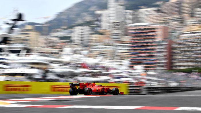 Charles Leclerc tercepat di latihan bebas ketiga GP Monako. (Foto: Michael Regan / Getty Images)