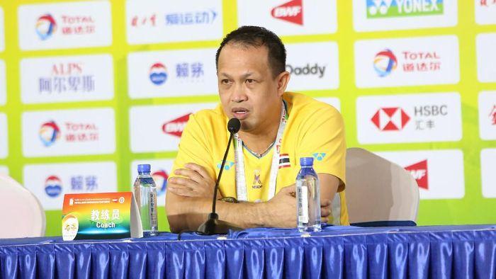 Pelatih kepala Thailand Rexy Mainaky menilai timnya masih banyak pekerjaan rumah. (Foto: dok. Piala Sudirman)