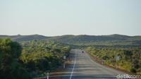 Perjalanan ke Nambung National Park tak kurang dari tiga jam jika langsung ke sana dari Kota Perth, atau sekitar 188 kilometer (Masaul/detikcom)
