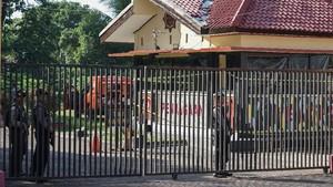 Begini Pengamanan di Mako Brimob Purwokerto Pasca Penyerangan