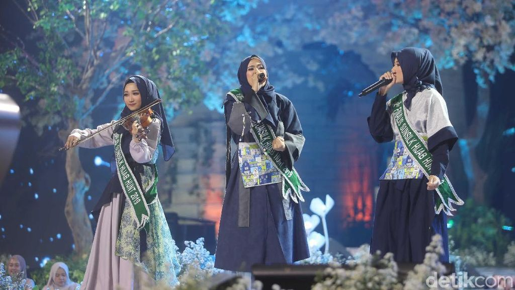 Kolaborasi Beatbox dan Biola Bikin Panggung Final Sunsilk Hijab Hunt Pecah