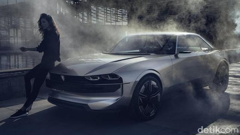 Peugeot e-Legend Concept Foto: Peugeot