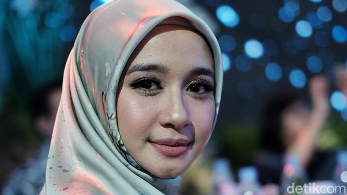 Laudya Cynthia Bella menghadiri Sunsilk Hijab Hunt 2019