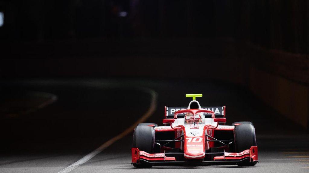 Feature Race F2 Monako Kacau, Sean Gagal Finis