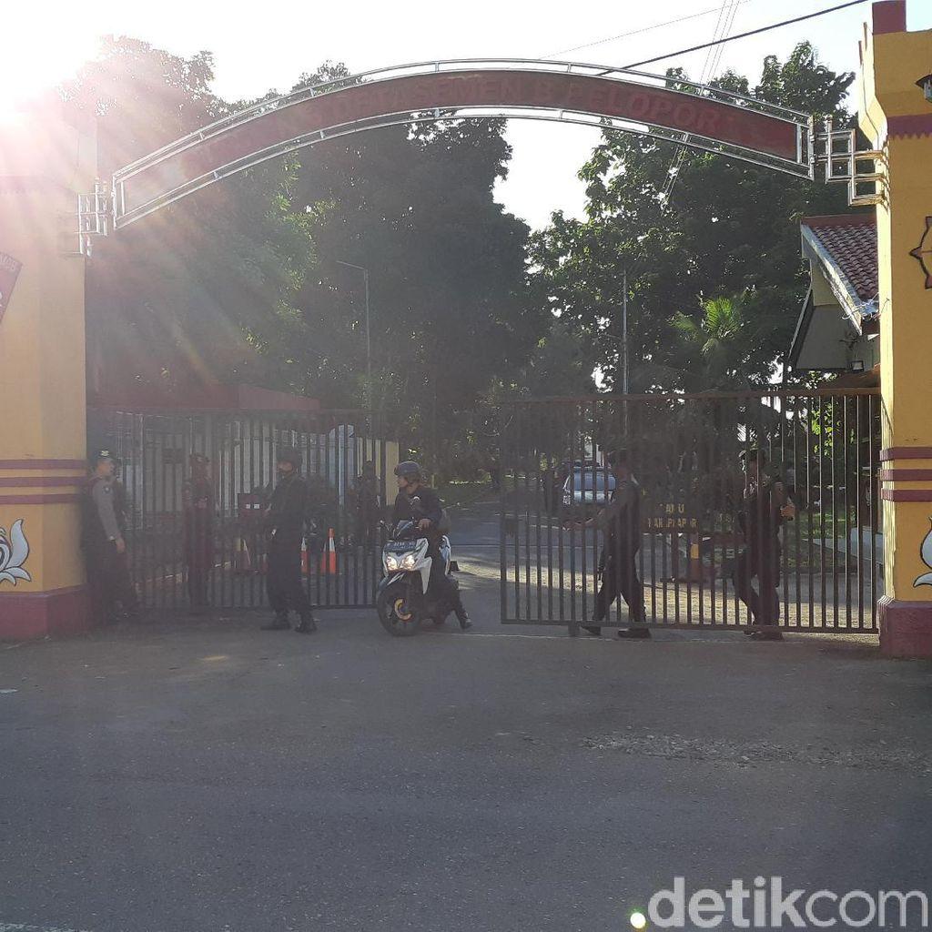 Polisi: Terjadi Penembakan di Mako Brimob Watumas Purwokerto