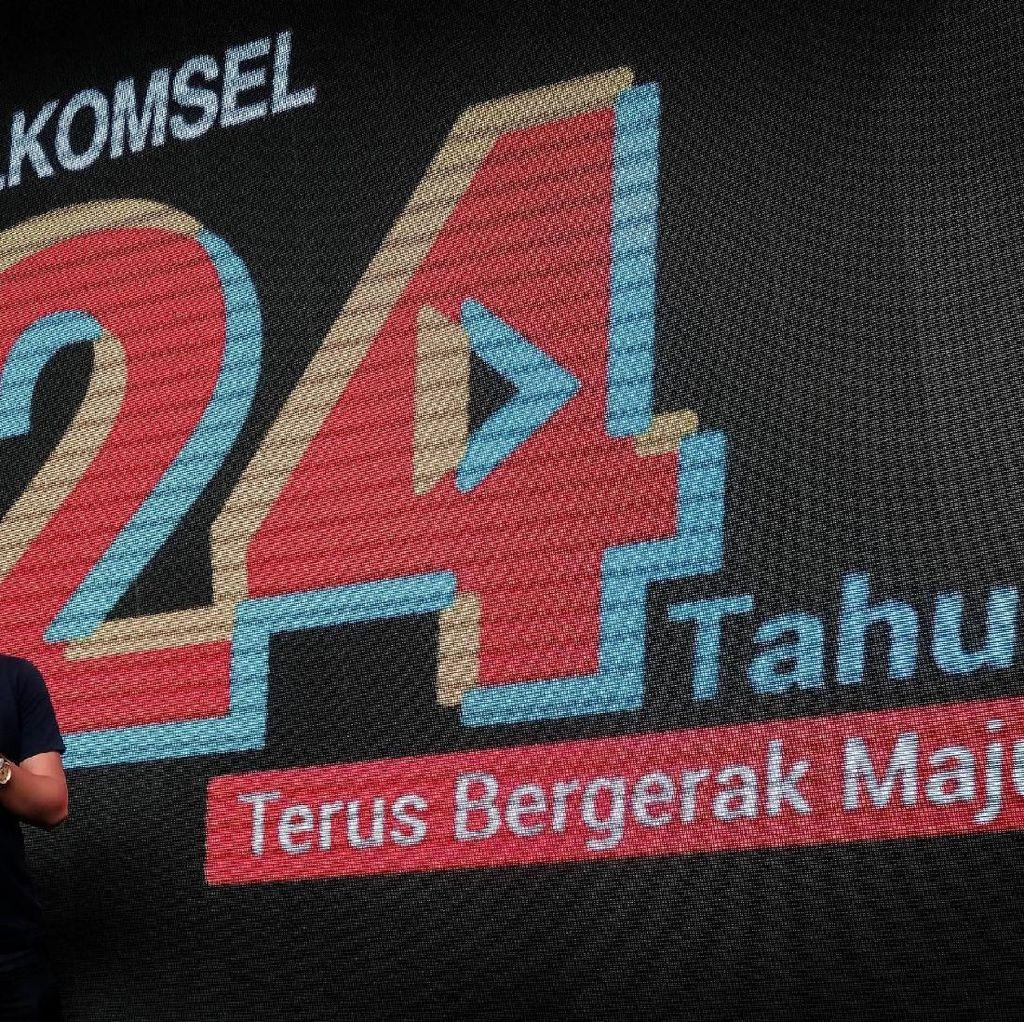 24 Tahun Telkomsel, 168 Juta Pelanggan dan 197 Ribu BTS