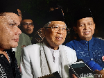 Prabowo-Sandi Minta MK Diskualifikasi Jokowi, Maruf: Nanti MK yang Memutuskan
