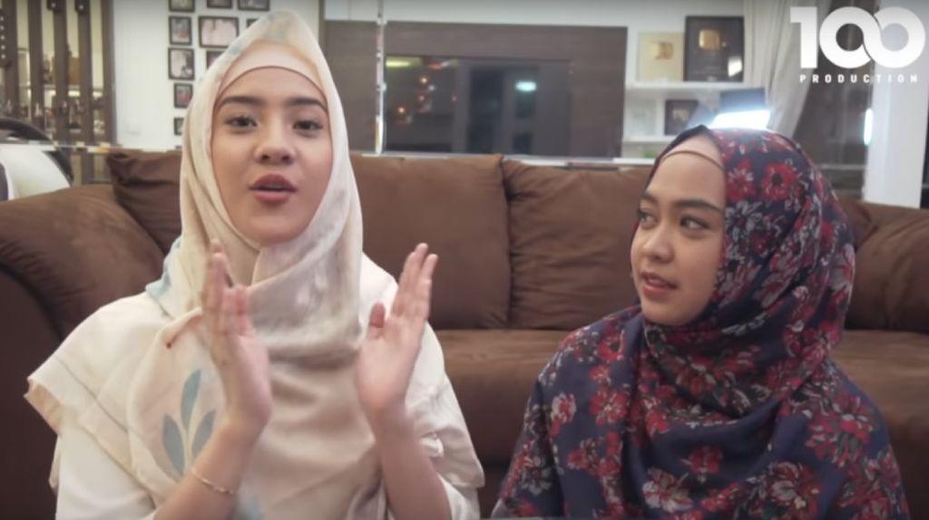 Anya Geraldine Belajar Berhijab, Kru Ria Ricis Dibuat Tak Berkedip