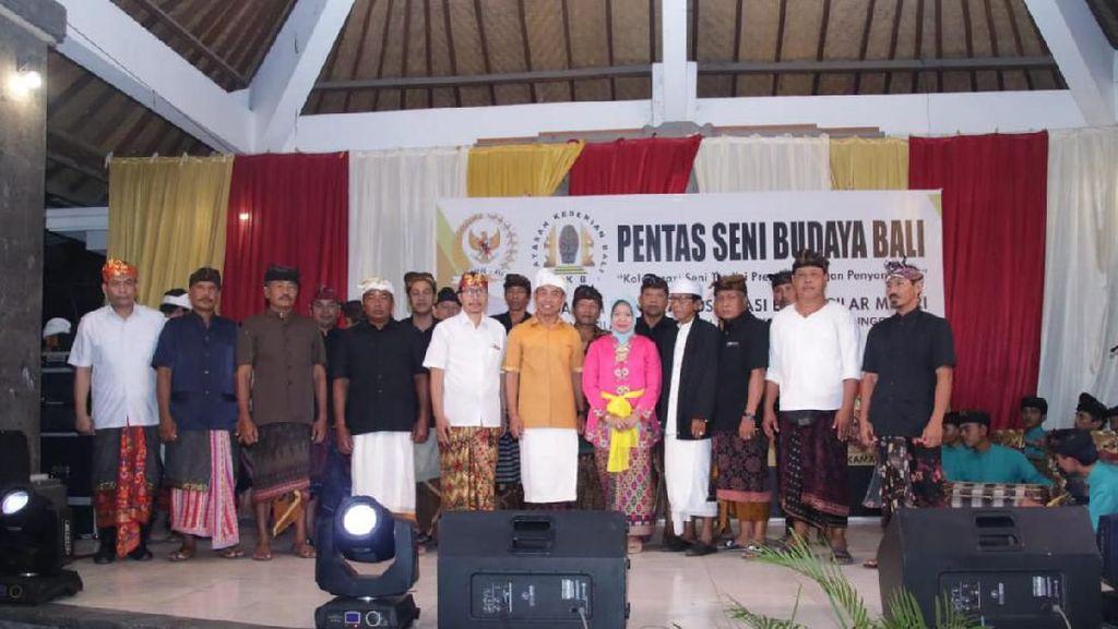 MPR Sosialisasikan Empat Pilar Lewat Pentas Seni Budaya di Bali