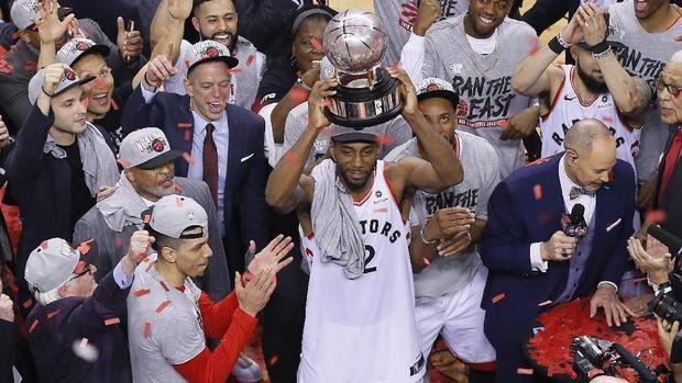 Toronto Raptors untuk kali pertama lolos ke final NBA.
